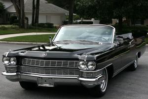 ELEGANT CALIFORNIA RUST FREE SURVIVOR-1964 Cadillac Eldorado  Convertible -3K MI