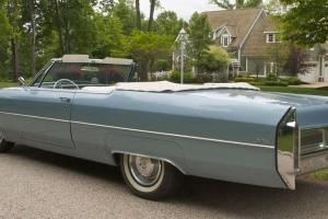 1965 Cadillac DeVille Base Conv 2-Dr V-8 NO RESERVE Exc thru-out, DRIVE ANYWHERE