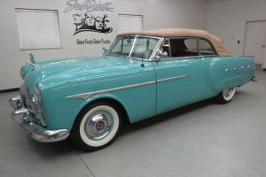 """1951 Packard 250 Convertible """"Body Off"""" Gorgeous""""Turquoise Blue"""""""