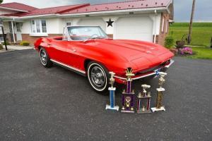 1966 Corvette Convertible *Restored*L@@K*#sMatching327/300hp*4spd*BEAUTIFUL*