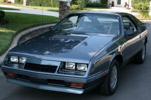 RARE MINT ONE OWNER SURVIVOR -1984 Chrysler Laser Turbo Coupe - 47K MI