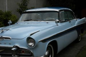 1956 DeSoto Four door Hardtop Fireflite Sportsman two tone blue