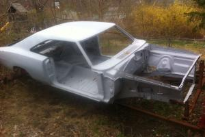 1969 Dodge Charger RT 440 4 speed body on included Rotisserie Fender Tag Title