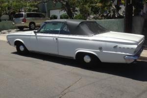 1966 Dodge Dart GT Convertible 2-Door 3.7L