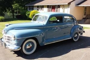 1946 Plymouth Super Deluxe 39k Miles Restored RUST FREE Car!! Must See!! Dodge