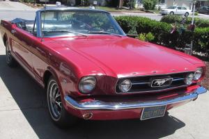 1966 Factory GT Mustang Convertible (always in California - same owners 40 years