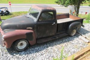 1950 GMC 100 stepside pick up truck,