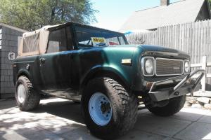 1970 International Scout 800A *NO RESERVE*