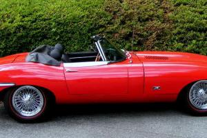 '71 E Type Series 2 Roadster with 24,000 miles! Ultimate Color Combo Red/Black