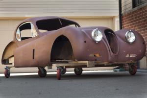 Jaguar XK120 Fixed head Coupé body shell #J1313 - from LHD chassis # 679212
