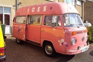 V-Rare & Stunning 1973 VW Bay Window, Pink Ice-Cream Van, LHD, 1600cc T&T