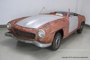 190SL Barnfind Project California Car