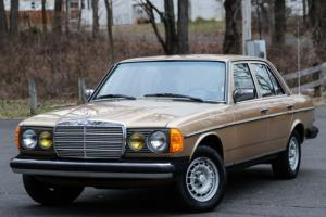 1983 Mercedes Benz 300D 300 DT Turbo Diesel I6 LOW 62K Miles Southern CARFAX