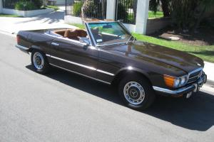 1972 MERCEDES 350SL BEAUTIFUL CALIFORNIA CAR 55K MILES RARE ORIGINAL COLOR