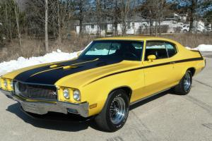 1970 Buick GSX Stage 1, Frame off Restored, Documented, Original, Numbers Match