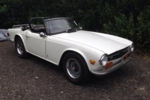 1973 Triumph TR6 Convertible *Restoration project LHD* part exchange welcome