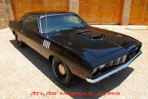 1971 Cuda 528 Hemi 4 speed, K frame off resotred, build pictures in add