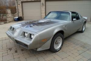 1979 TRANS AM 400 / 4 SPD LOADED. VERY CLEAN SHEET METAL, NEW INTERIOR W78 / WS6