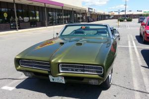 1969 Pontiac GTO Convertable,71k miles,400 engine,phs sheets,titled,solid cond.!