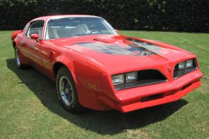 RED/White TRANS AM