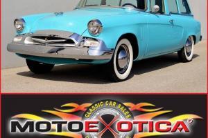 1955 Studebaker Champion- Buy it now! 24,900.00 Rare 2 Door Wagon!
