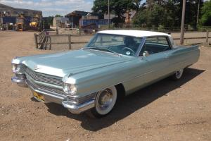 Cadillac DeVille 2 Door Coupe 1964 American Classic Photo