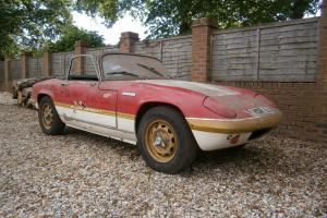 LOTUS ELAN S4 'SPRINT' DHC 1971 'J' * COMPLETE RESTORATION PROJECT* Photo
