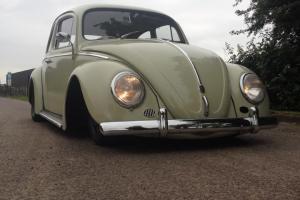 Slammed 1960 VW Beetle