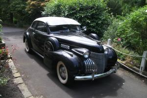 1940 Cadillac 2 door coupe series 62 Photo