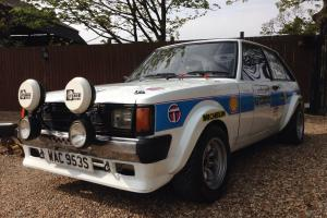1977 CHRYSLER SUNBEAM S BLUE Rally Car FIA
