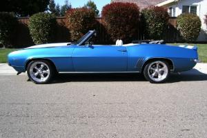 1969 Camaro Convertible LS1 Restorod 6spd Fuel Injected Camero