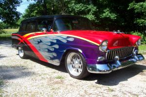 1955 two door handy man wagon street rod, custom, pro street, pro touring Photo