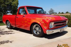 1972 Chevy C10 Short Bed GM 350 ZZ4 TPI Fuel Injection 700R4 A/C IFS PS Leather