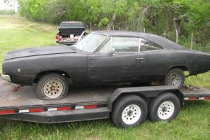 1968 Dodge Charger RT project car real deal