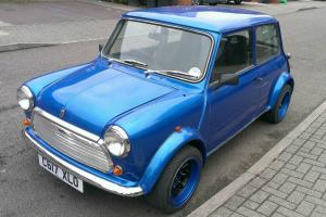 1986 AUSTIN MINI MAYFAIR BLUE 1275