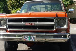 1976 gmc 2500 4x4 built 454 th400