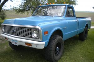 1972 Chevy K20 4x4 3/4 ton c10 c20 gmc pickup fuel injected