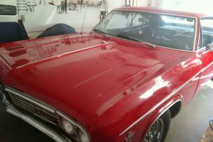 1966 Chevy Impala machine numbers original miles