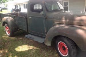 1946 international KB3-Barn find truck