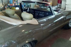 1973 XKE CONVERTIBLE IN EXCELLENT CONDITION