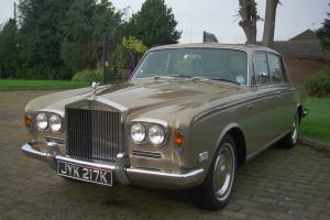 LOVELY 1972 ROLLS ROYCE SILVER SHADOW 1 .FULL HISTORY. TAX EXEMPT.  Photo