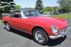1967 MGB Roadster, Ready to Enjoy!