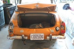 MG Midget 1973 - rear damage, runs fantastic - includes many extras