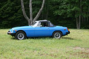1980 MGB 25500 original miles pageant blue