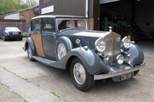1937 Rolls-Royce Phantom III Sedanca De Ville by Hooper  Photo
