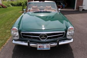 1970 Mercedes 280SL Convertible with Hard & Soft Top, Fresh Overhaul...Excellent
