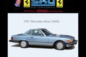 1987 Mercedes Benz 560SL ~ rare 'Kinder Seat' option