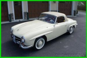 1959 MERCEDES BENZ 190 SL