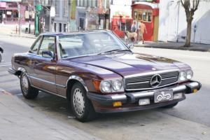1988 Mercedes Benz 560SL Convertible Automatic Transmission Photo