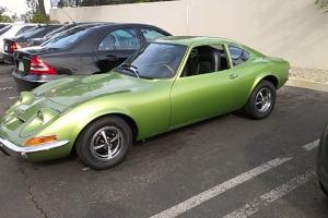 1973 OPEL GT PROFESSIONAL RESTORATION/ ALMOST COMPLETED